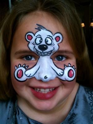 Bear Face Paintings