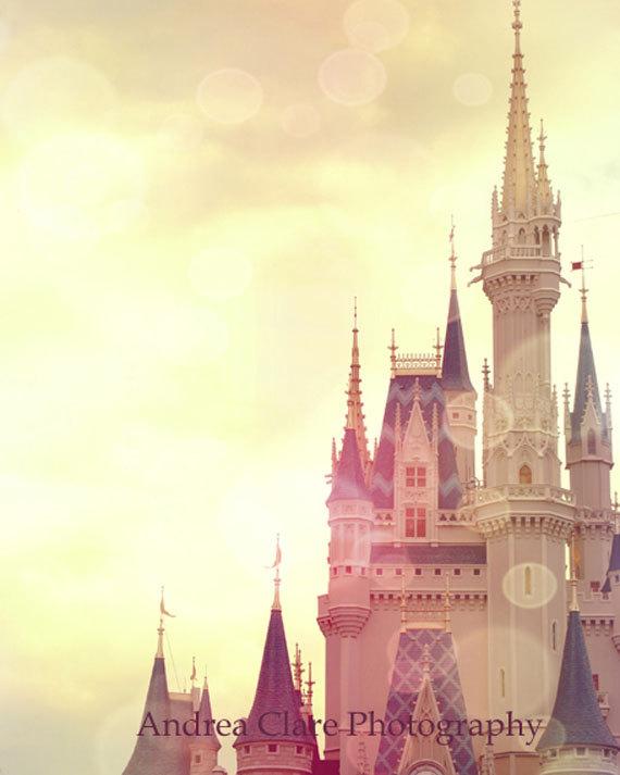 Cinderella Castle paintings