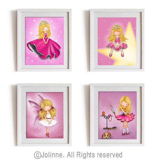 Girls Room Paintings