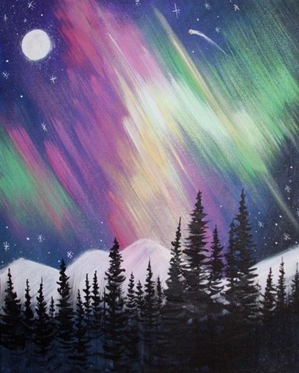 Beginner Acrylic Paintings