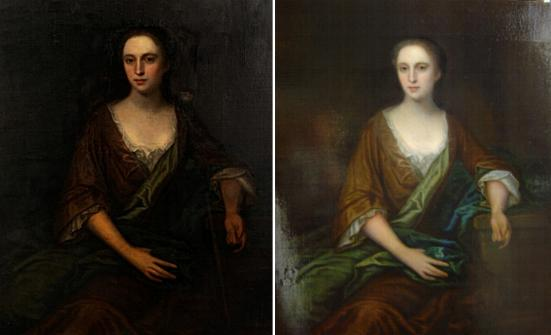 Restoring Old Paintings