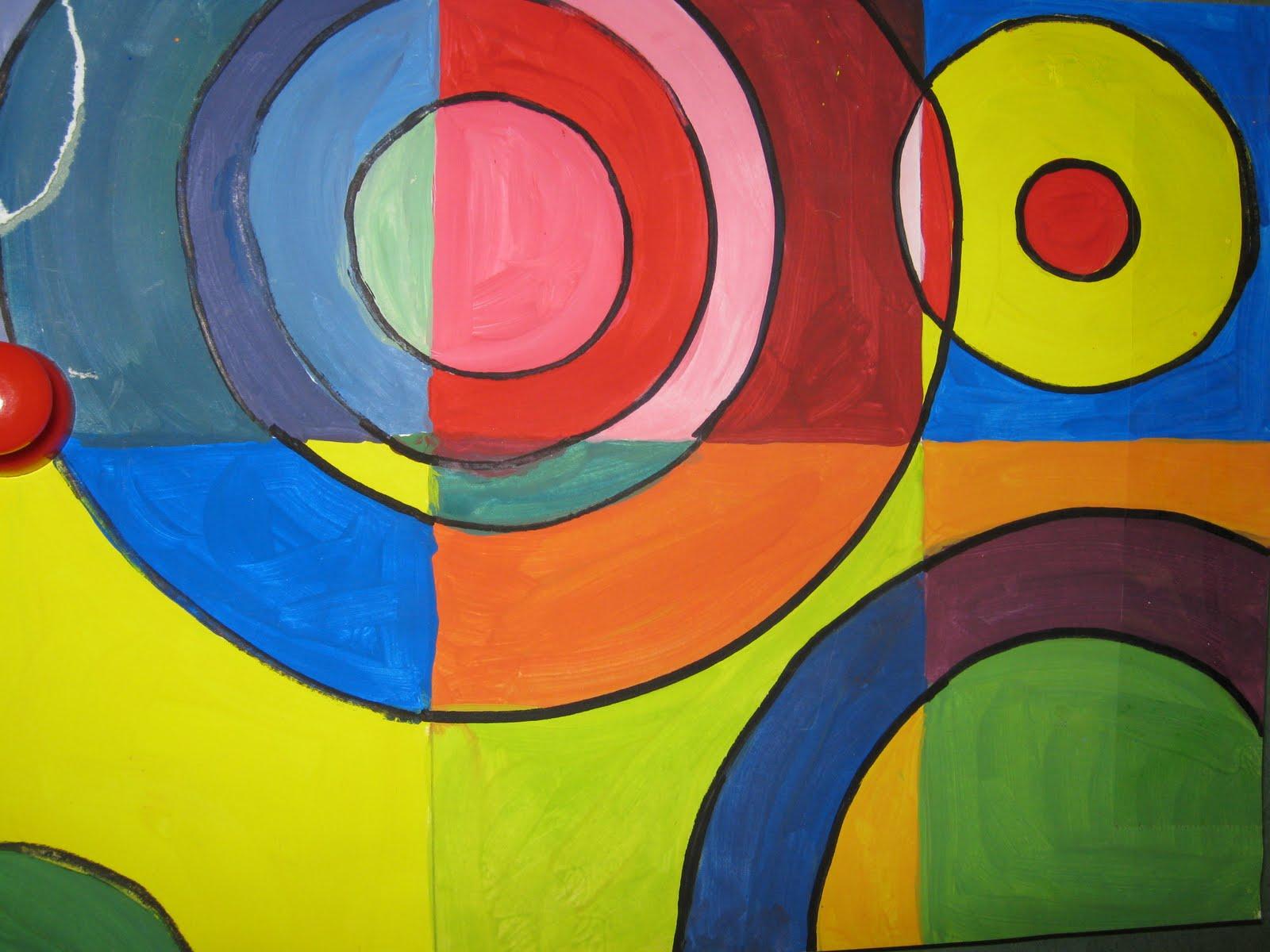 Famous shape paintings