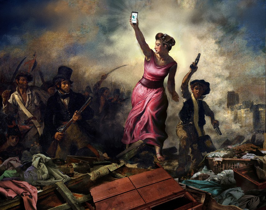 French Revolution Paintings