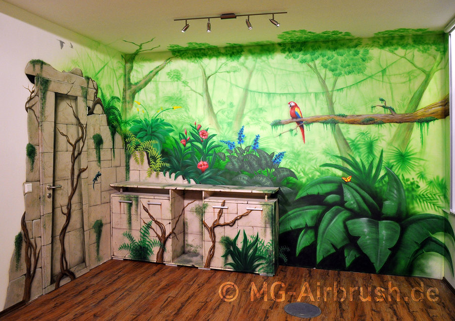 Jungle Wall Paintings