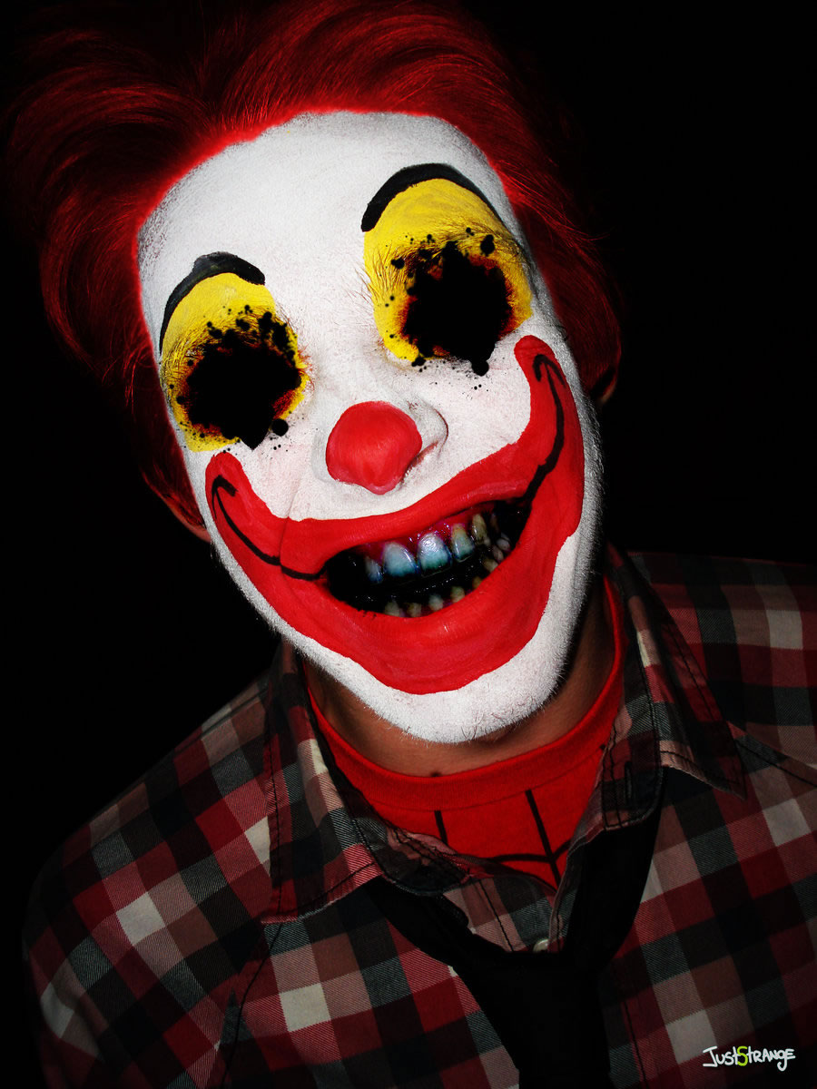 Evil Clown Paintings