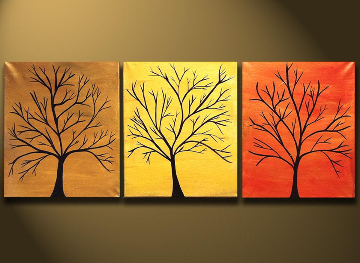 tree canvas paintings