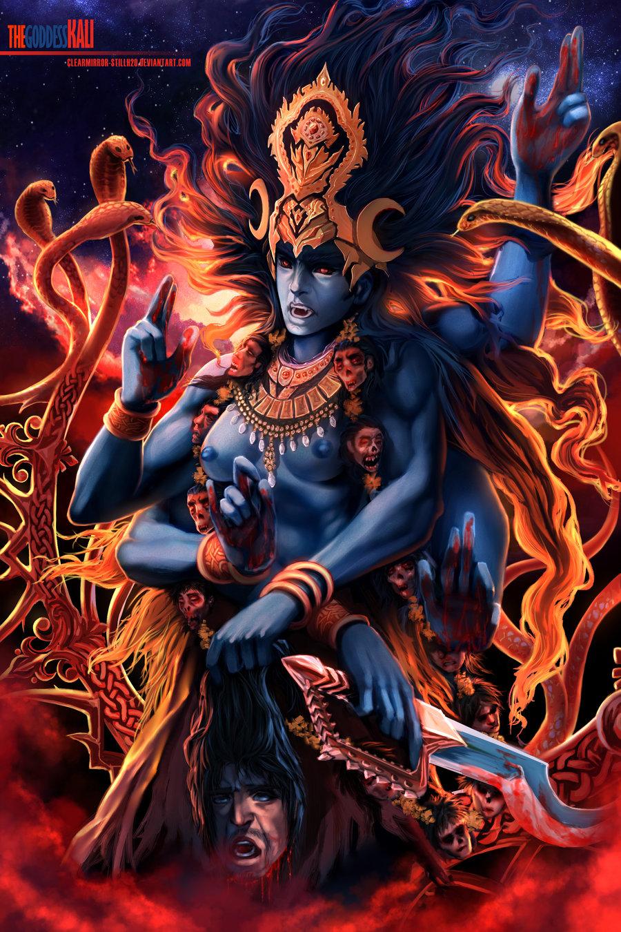 Modern Goddess Deviantart Kali Goddess