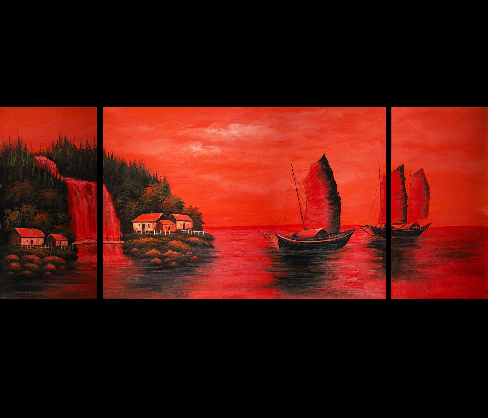 Asian Wall Paintings