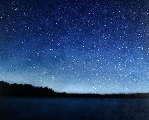 Blue Skies Of Texas >> Night Sky paintings
