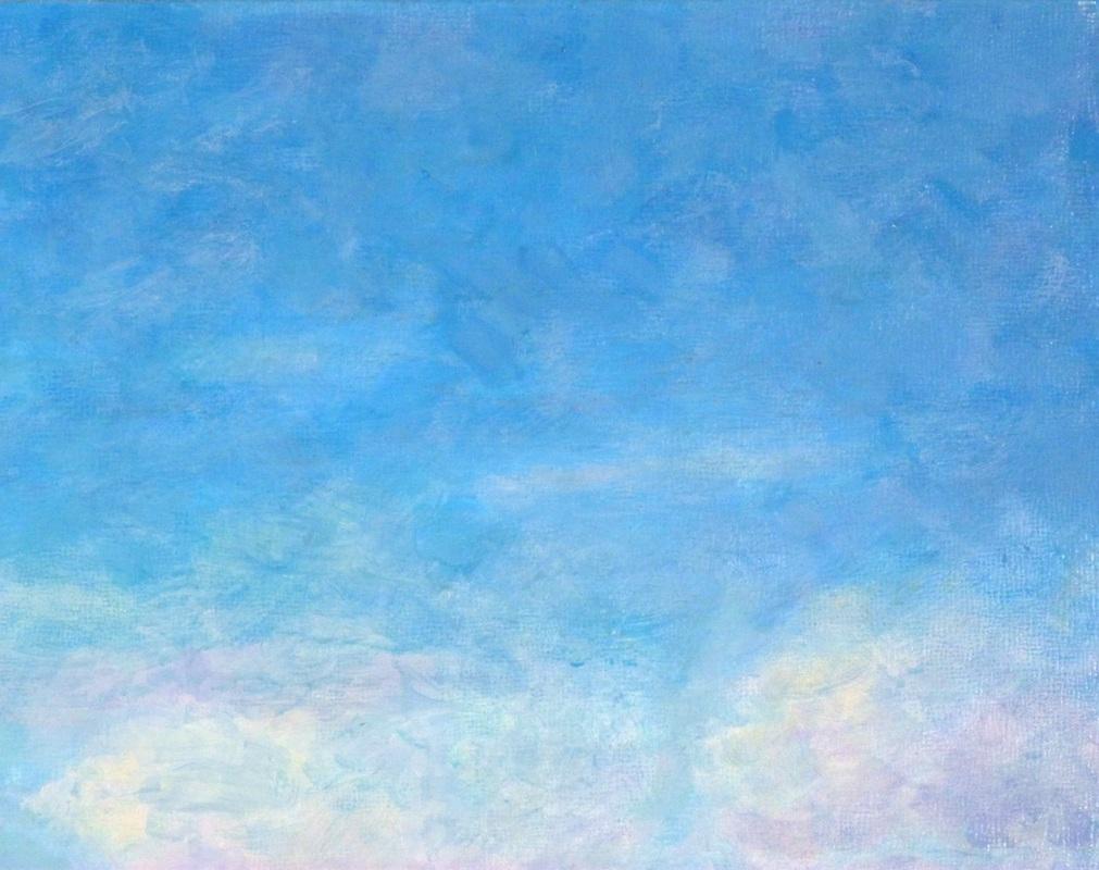 Blue Sky Painting X3cb X3epaintings X3c B X3e By Joe Bergholm