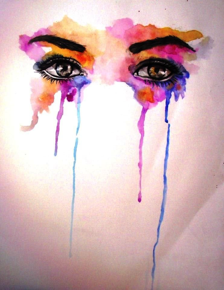 Abstract Eye Paintings