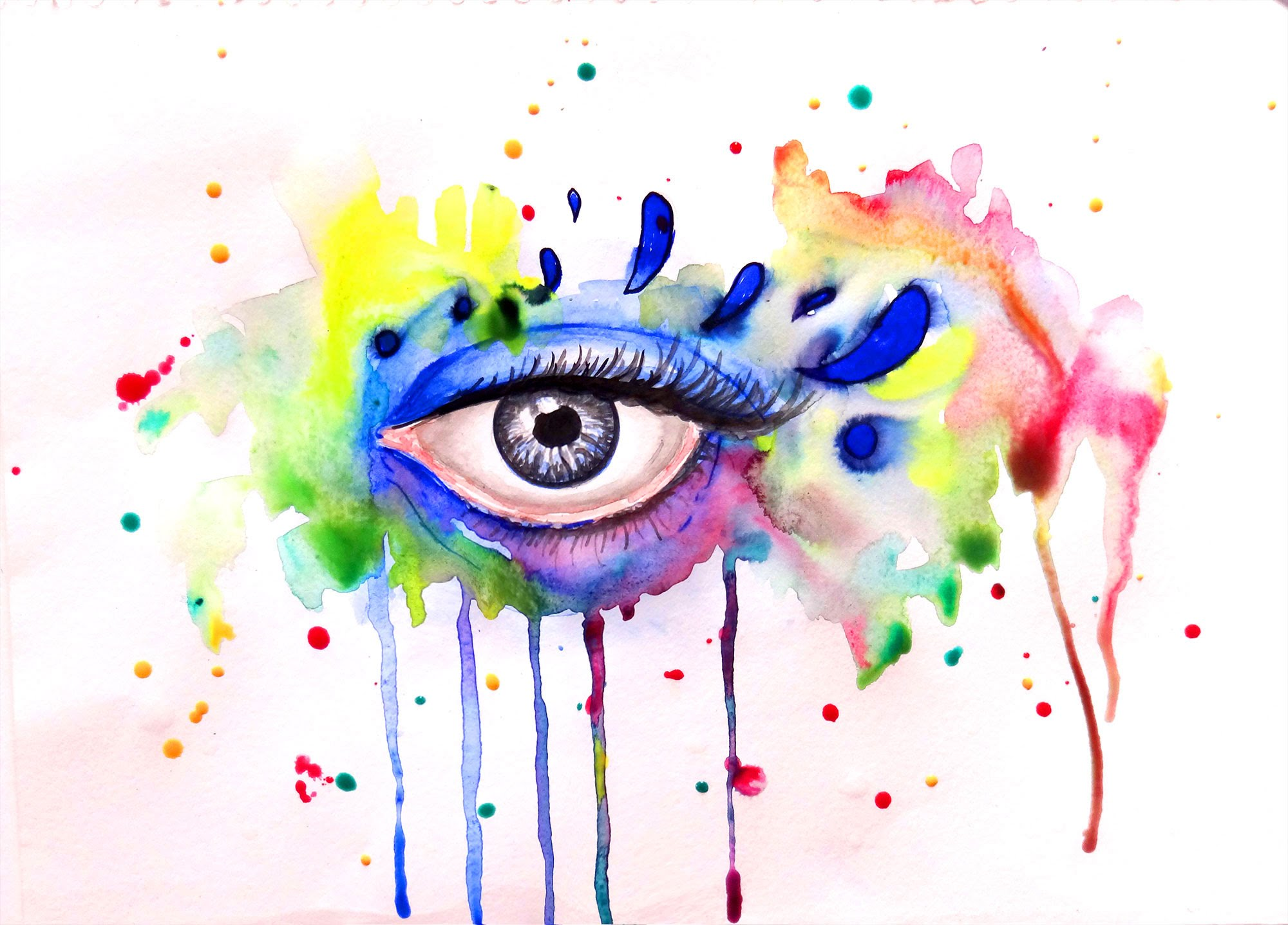 Easy Colorful Paintings