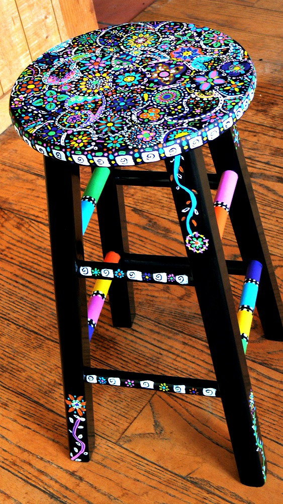 Awesome Stool Paintings Cjindustries Chair Design For Home Cjindustriesco