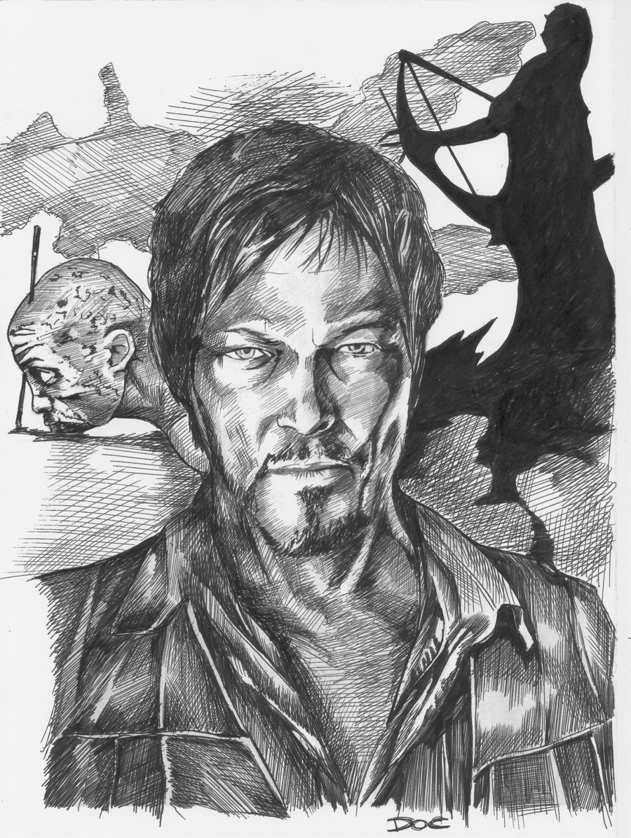 Daryl Dixon Paintings