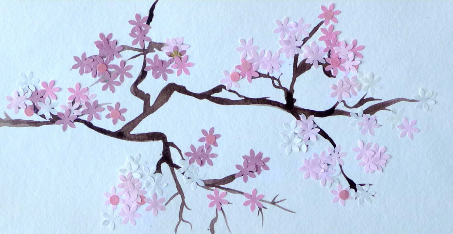 Cherry Blossoms Paintings