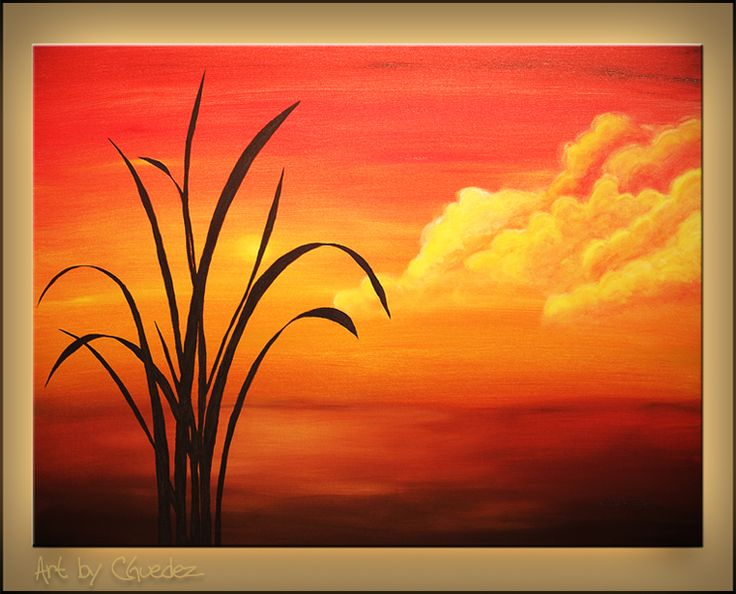Simple Nature Paintings In today's youtube painting tutorial i will show you, how. simple nature paintings