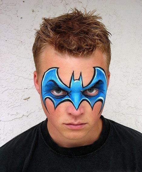 Batman Face Paintings