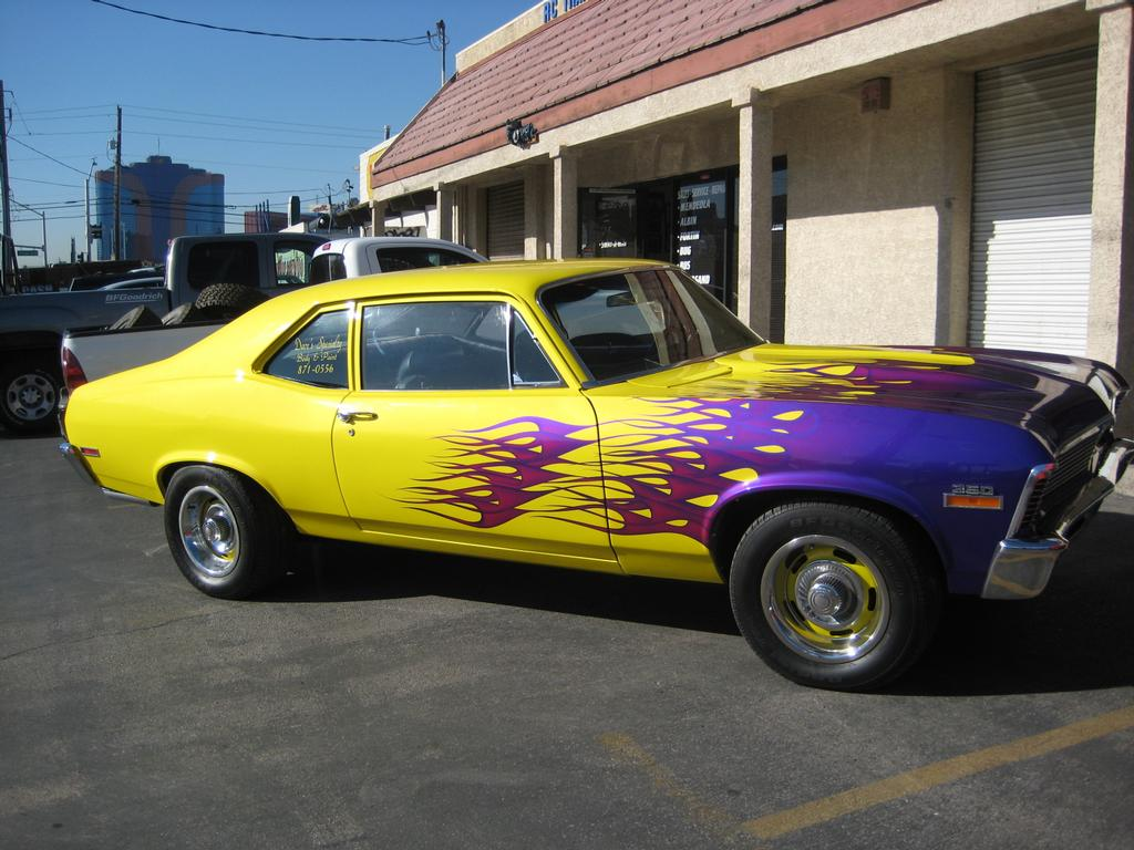 Custom Car paintings