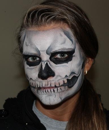 Skull Face Paintings