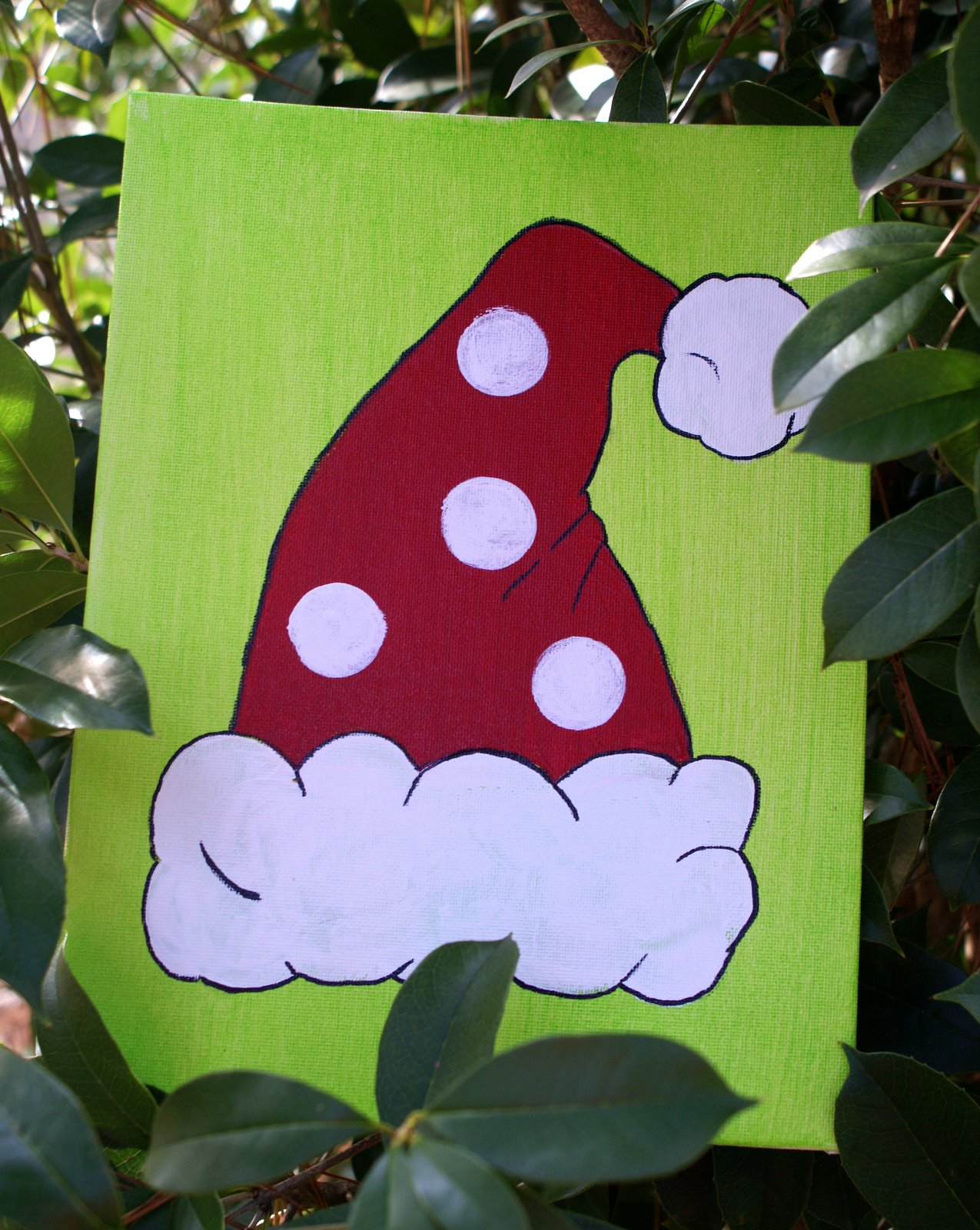 Easy Christmas Paintings