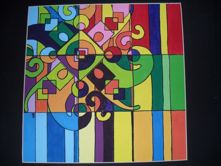 Color Theory Paintings