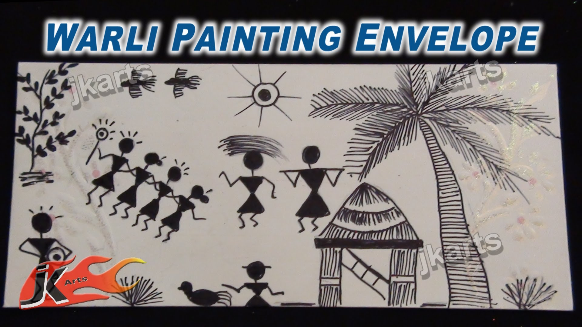 Simple Warli Paintings