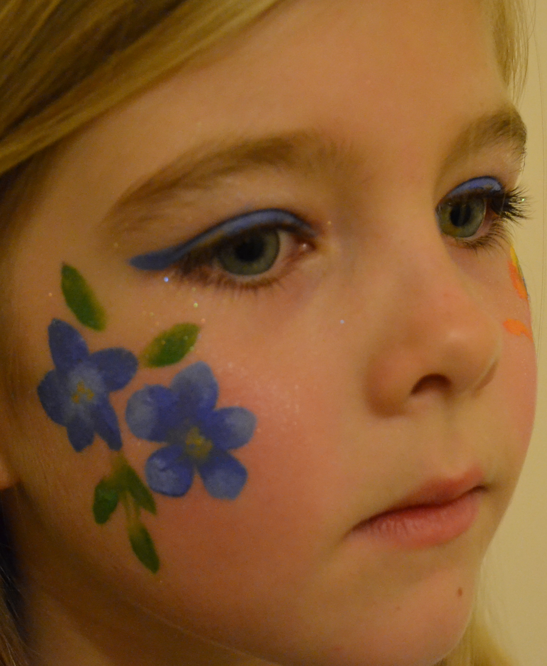 Flower Face Paintings