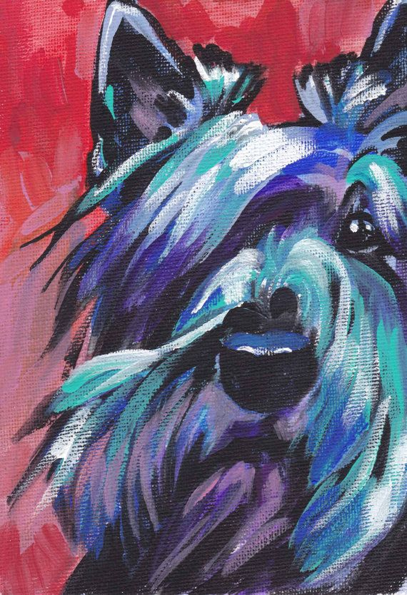Bright Colored Animal Paintings Painting Ideas