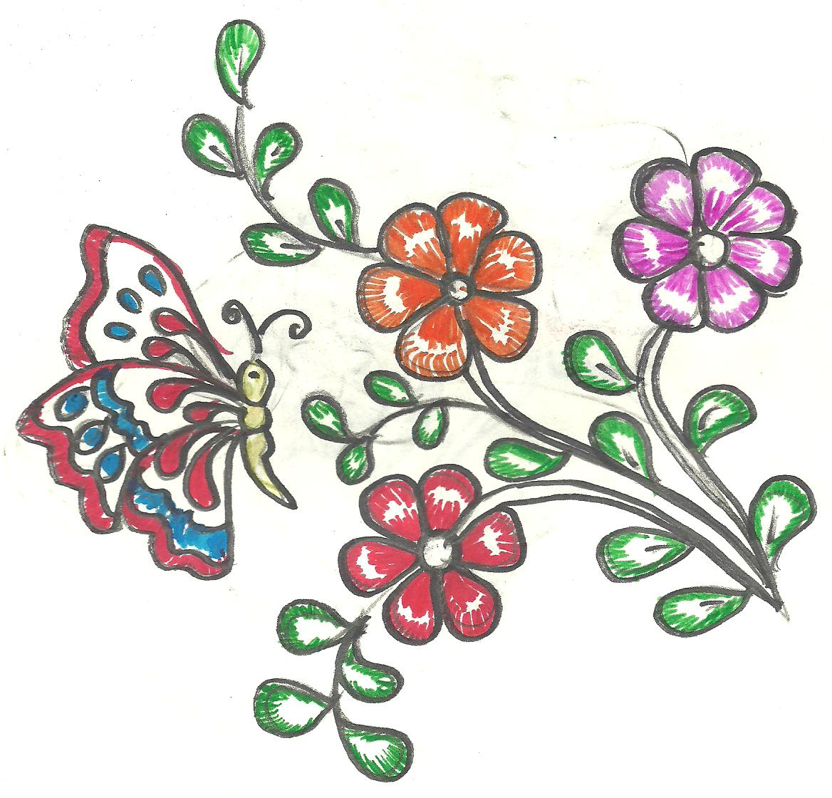 Design For Cloth Painting   Design Paintings