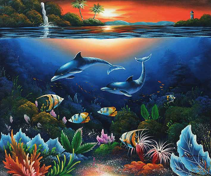 Vector of Illustration with underwater world csp27132883 ...  Underwater World Drawings