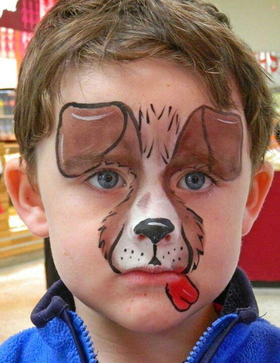 Easy Dog Paintings