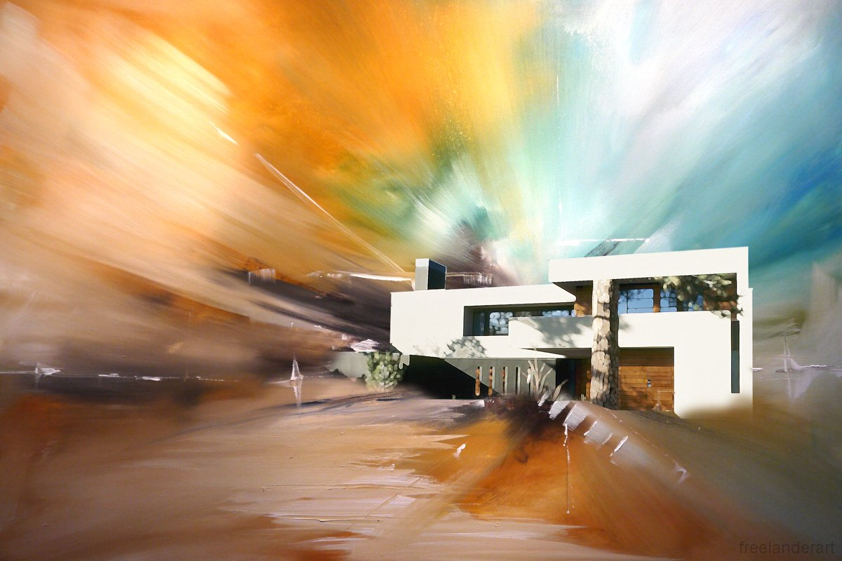 Architectural Abstract Paintings