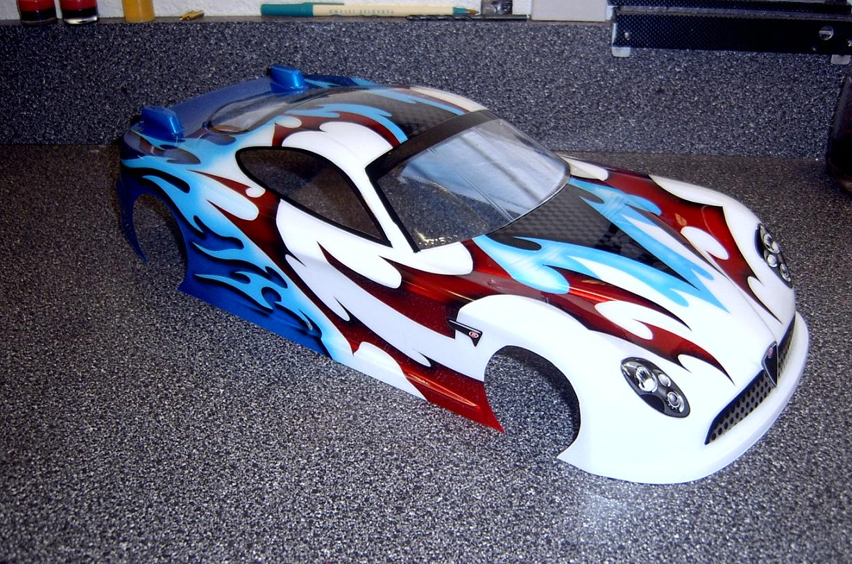 Rc Body Paintings