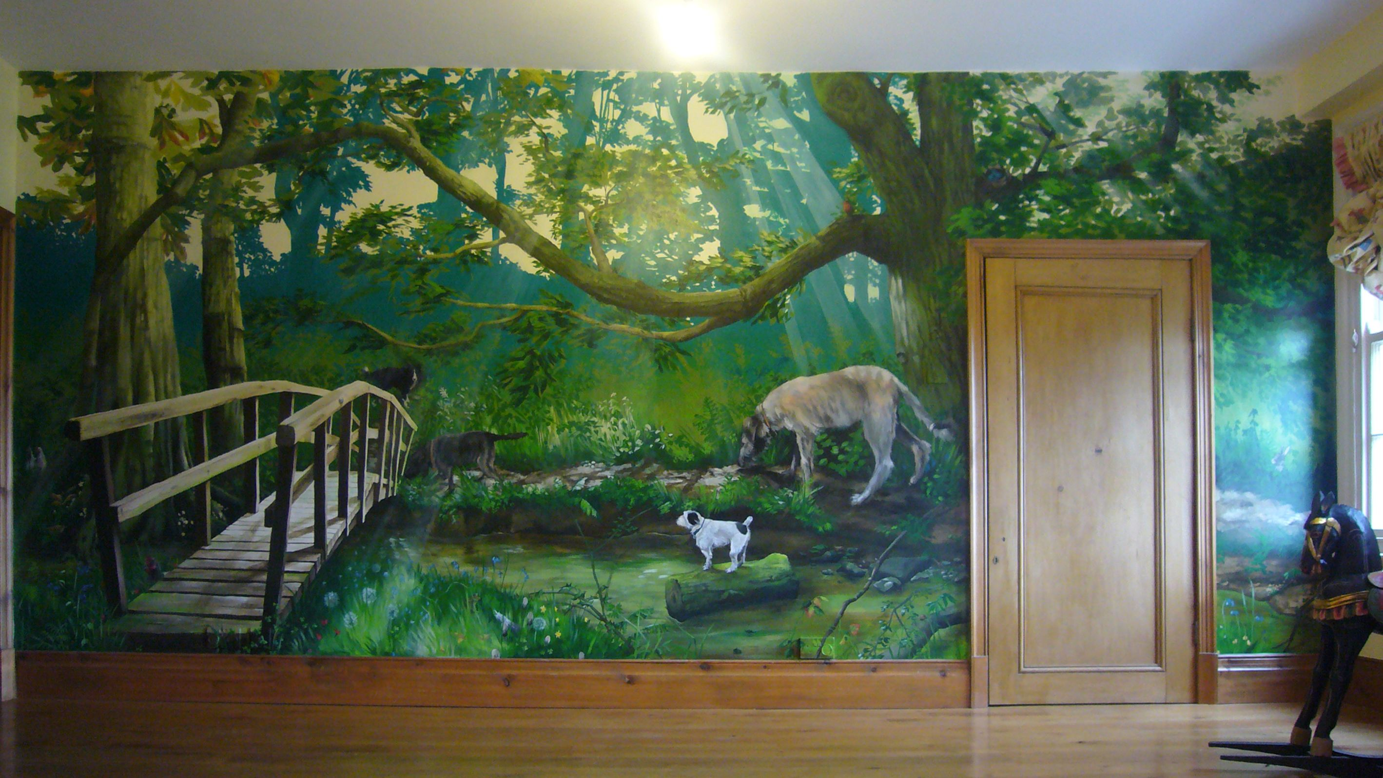 Nature Wall Paintings