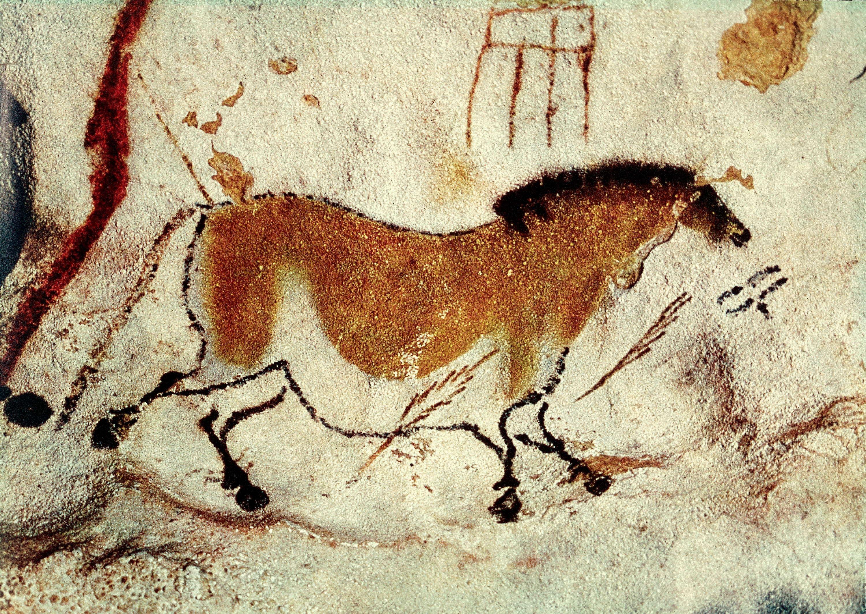 Рисунки животных древнего мира