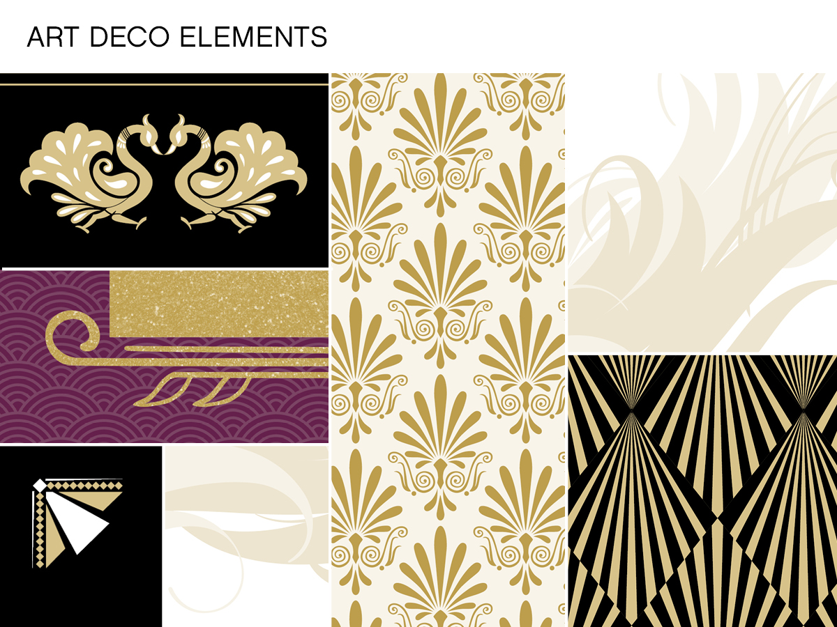 Latest Great Gatsby Art Deco Design Decor Design Ideas