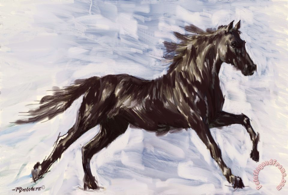 running horse paintings