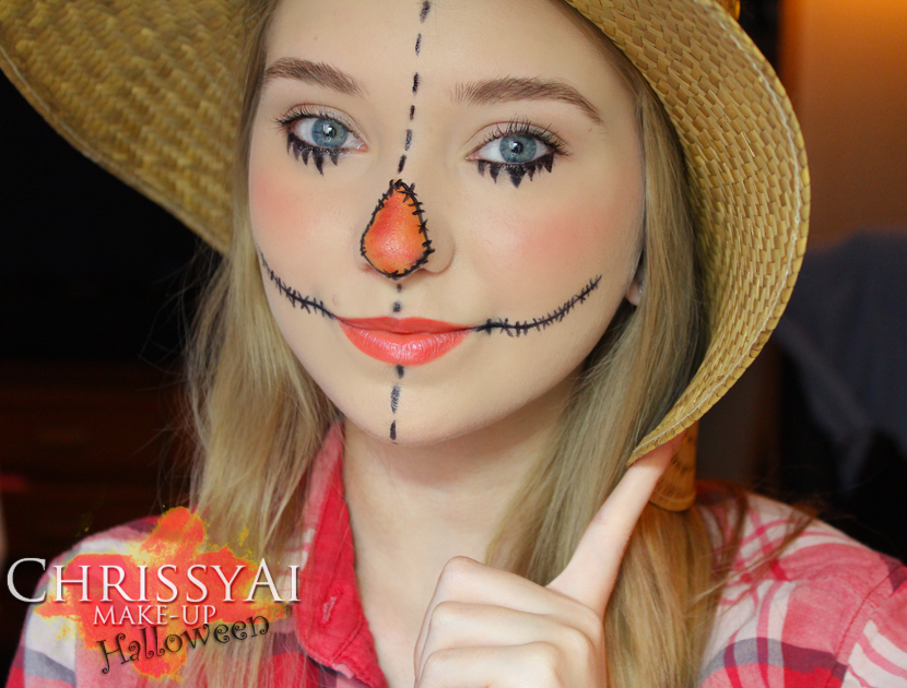 Scarecrow Face Paintings