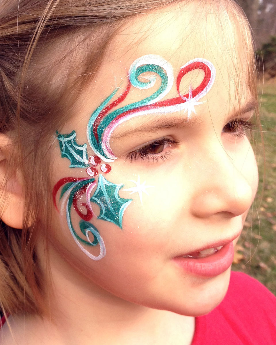 Christmas Face Paintings