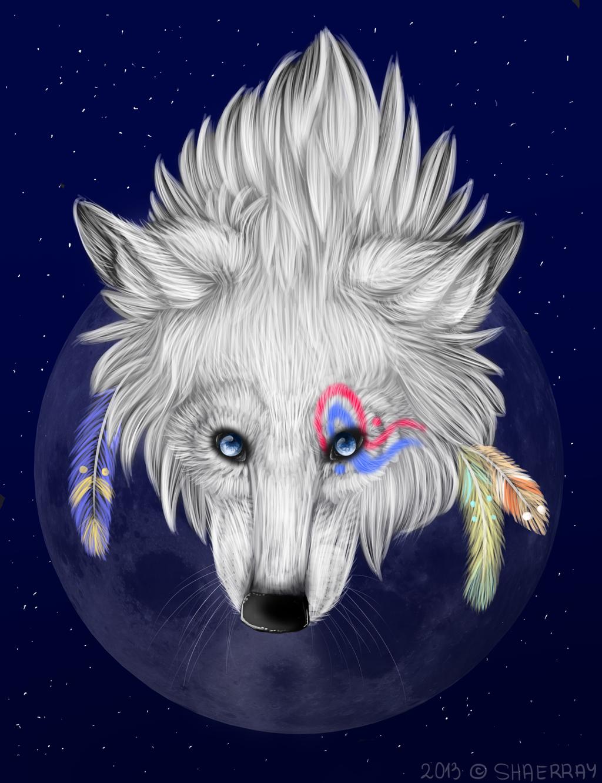 Картинки гламурного волка