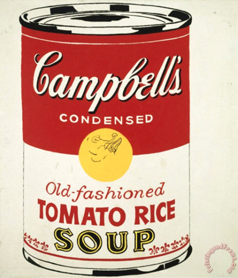 andy warhol campbell's soup - 822×960