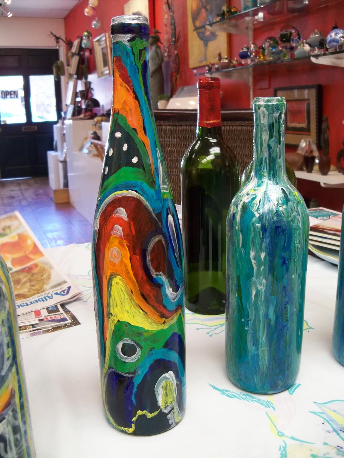 Bottle Paintings