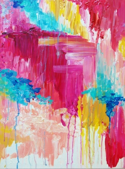 Bright Color Paintings