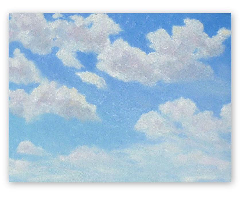 Blue Skies Paintings