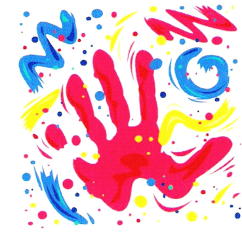 Teknik Finger Paintings