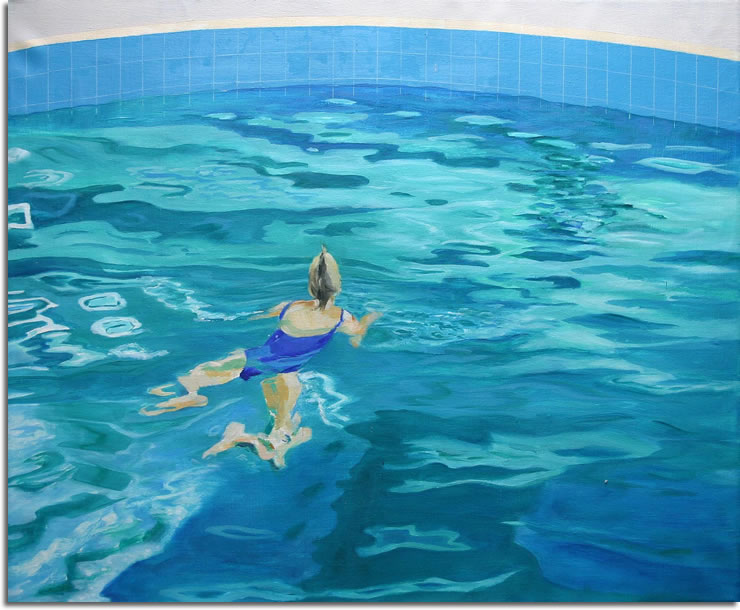 Drawing Swimming Pools : Swimming pool paintings