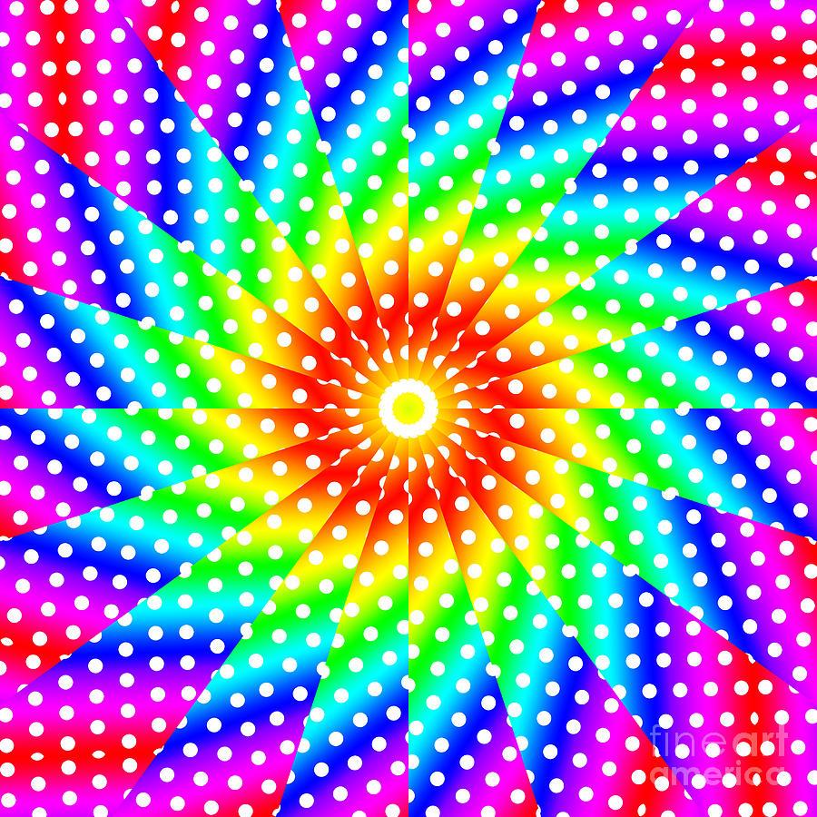Polka Dot Paintings