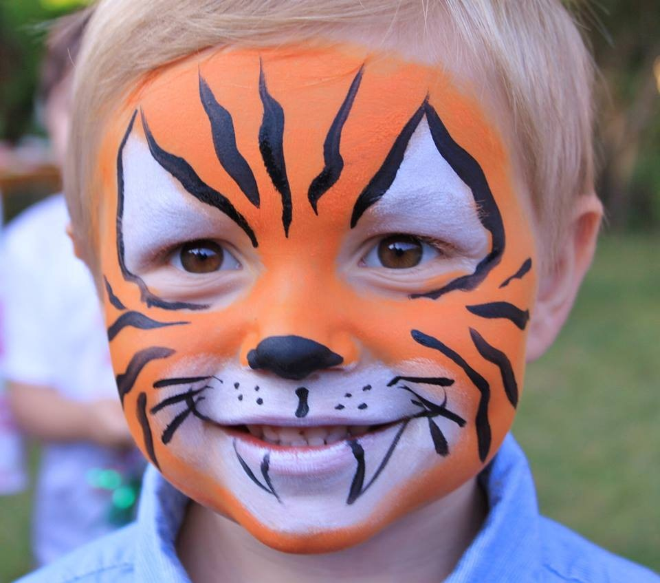 Face Painting For Kids Tiger Face Paint Ideas