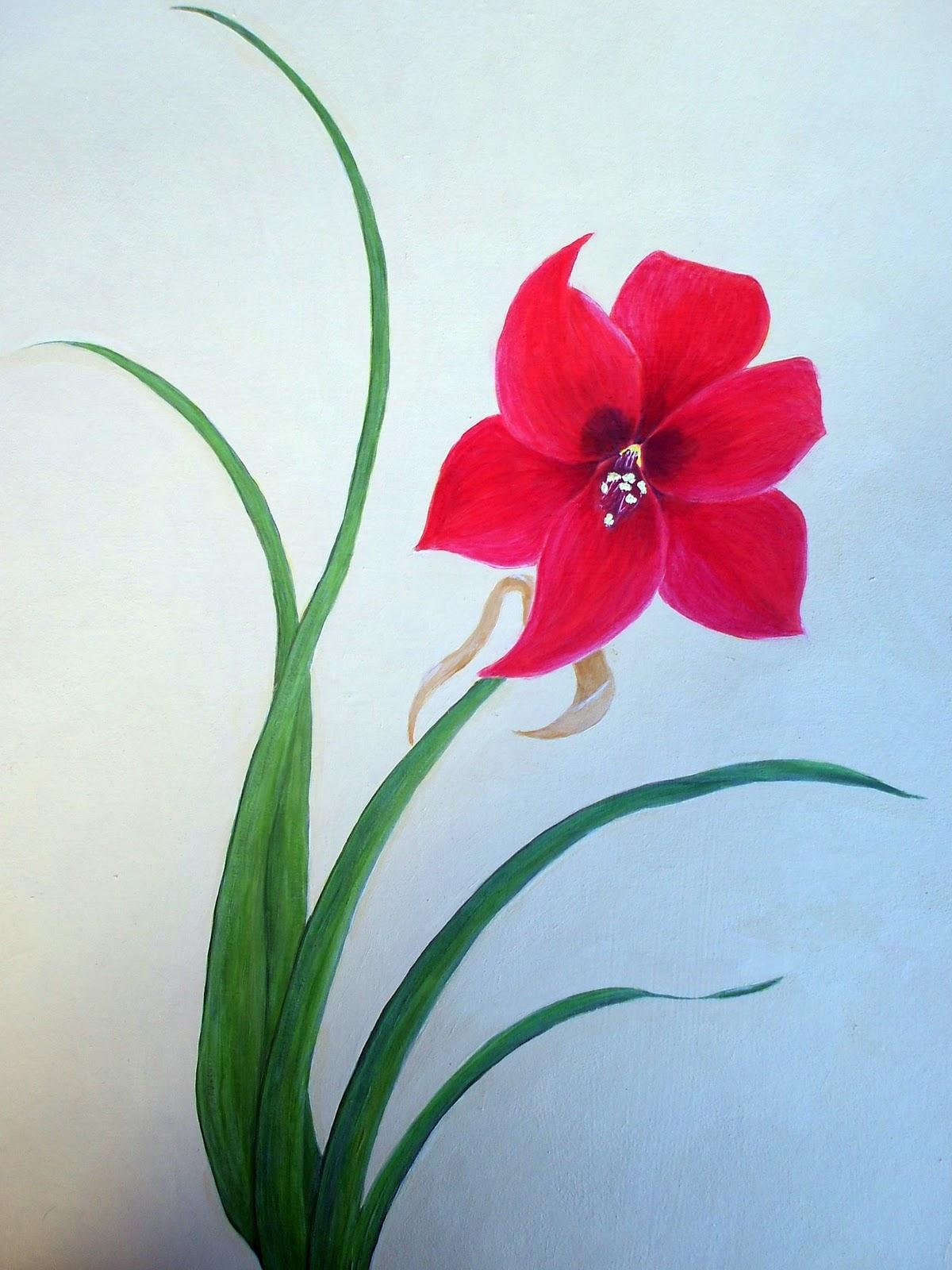 Easy Flower paintings