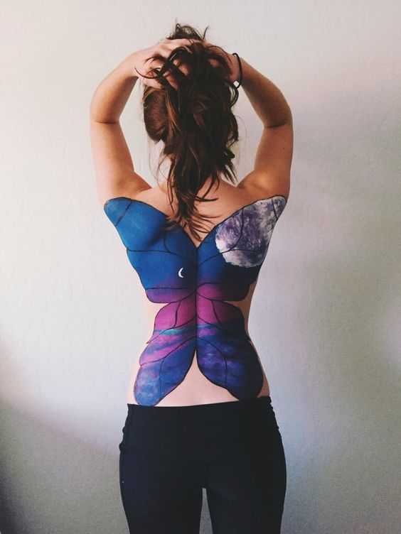 Back Body Paintings